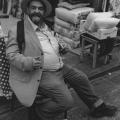 Bedding Merchant Mahane Yehuda Market Jerusalem